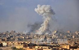 Nga không kích phiến quân ở miền Nam Syria