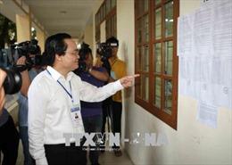 Bộ trưởng Phùng Xuân Nhạ: Sẽ hoàn thiện quy trình chấm thi đảm bảo khách quan, trung thực