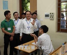 Bộ trưởng Phùng Xuân Nhạ: Tạo điều kiện thuận lợi, hỗ trợ tối đa các thí sinh