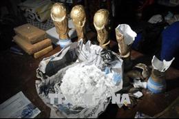 Giấu cocain, cần sa trong cúp Vàng World Cup 'dỏm'