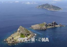 Tàu Trung Quốc xuất hiện trong vùng biển gần quần đảo tranh chấp với Nhật Bản