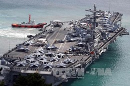 Mỹ đưa tàu sân bay USS Ronald Reagan tới Biển Đông tuần tra