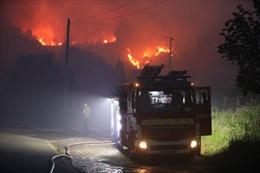 Cháy rừng nghiêm trọng tại Anh, nhiều gia đình phải sơ tán