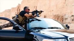 Quốc Vương, Hoàng Thái tử Jordan bắn đạn thật như phim hành động Hollywood