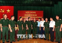 Hội nghị toàn quân triển khai nhiệm vụ công tác Đảng, công tác chính trị 6 tháng cuối năm 2018