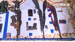 Thu giữ số lượng lớn vũ khí tại 'sào huyệt ma túy' ở xã Lóng Luông
