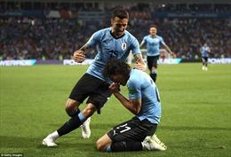 WORLD CUP 2018: Clip bàn thắng Uruguay 2-1 Bồ Đào Nha: Cavani che mờ Ronaldo