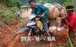 Lai Châu: Hàng nghìn hộ dân ở huyện Mường Tè bị cô lập sau lũ