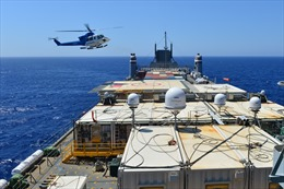 Iran tố tàu Mỹ chở chất hóa học tới Syria và Iraq 'âm mưu nguy hiểm'