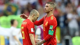 World Cup 2018:  Iniesta giã từ tuyển Tây Ban Nha; De Gea rời World Cup với thống kê tệ hại