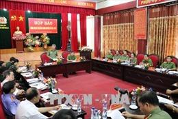 Công an Sơn La thông tin vụ triệt phá ổ ma túy tại Lóng Luông