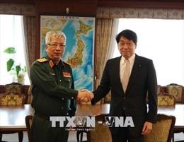 Tăng cường hơn nữa hợp tác quốc phòng Việt Nam - Nhật Bản