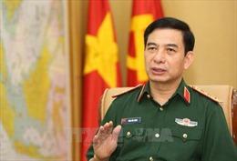 Thượng tướng Phan Văn Giang tiếp Tư lệnh Hải quân Hàn Quốc