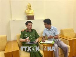 Công an Hà Nội chính thức thông tin về vụ 'Clip cát tặc lộng hành gần tàu cảnh sát'