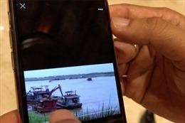 Về vụ 'Clip cát tặc lộng hành gần tàu cảnh sát': Sẽ xử lý nghiêm nếu có vi phạm