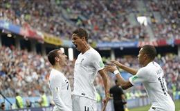 Video clip bàn thắng trận Uruguay 0-2 Pháp