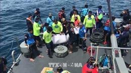 Thái Lan: Ít khả năng tìm thấy người sống sót trong vụ chìm tàu ở Phuket