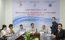 Herbalife Việt Nam tài trợ chính cho Hội thi Thể thao Người khuyết tật