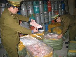 Nguy cơ thịt lợn rẻ từ Trung Quốc nhập lậu về Việt Nam