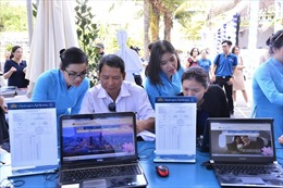 Vietnam Airlines áp dụng thanh toán bằng QR code thay tiền mặt, thẻ ngân hàng