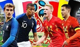 Bán kết Pháp-Bỉ: Cuộc so tài thượng đỉnh