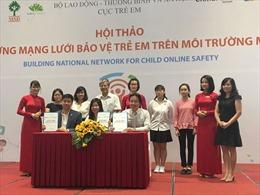 Liên kết bảo vệ trẻ em khi tham gia môi trường mạng