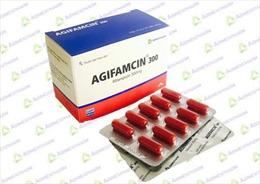 Thu hồi thuốc viên nang Agifamcin 300 giả