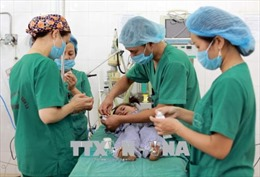 Phẫu thuật nhân đạo cho trẻ em khuyết tật vùng cao
