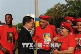 Người dân Cộng hòa Dominicana tôn vinh Chủ tịch Hồ Chí Minh