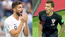 Chung kết World Cup 2018: Giroud và Mandzukic - Những tiền đạo 'lạc loài' nhưng cực kỳ quan trọng