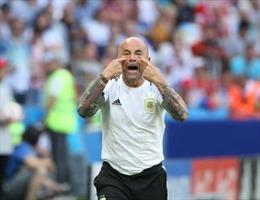 WORLD CUP 2018: Ông Sampaoli chính thức rút lui khỏi vị trí HLV tuyển Argentina