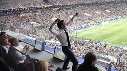 WORLD CUP 2018: Đội tuyển Pháp nhận cơn mưa lời khen của các chính trị gia