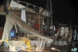 Nổ lớn tại một nhà hàng, gần 30 người thương vong tại Pakistan
