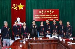 Tặng quà các gia đình thương binh, liệt sỹ tại Ba Vì, Hà Nội