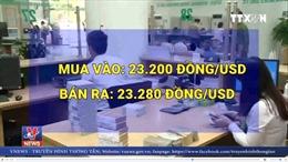 Giá mua 1 Đô la Mỹ vượt ngưỡng 23.300 đồng