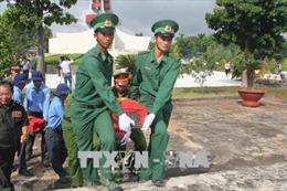 Truy điệu, an táng hài cốt liệt sỹ quân tình nguyện Việt Nam hy sinh tại Campuchia
