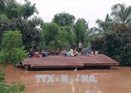 Hỗ trợ Lào 200.000 USD khắc phục sự cố vỡ đập thủy điện
