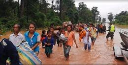 Thủ tướng Lào: Ảnh hưởng do sự cố vỡ đập là hết sức nặng nề