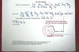 Khởi tố vụ án hình sự đối với sai phạm tại Hội đồng thi THPT quốc gia tỉnh Sơn La