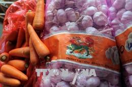 Tịch thu hơn 4 tấn cà rốt và tỏi Trung Quốc nhập lậu