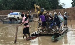 Bản làng tan hoang sau vụ vỡ đập thủy điện Sepien Senamnoi tại Lào
