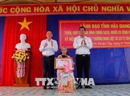 Các địa phương thiết thực kỷ niệm 71 năm Ngày Thương binh - Liệt sỹ