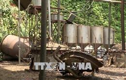 Nổ lò hơi xưởng chiết xuất tinh dầu quế ở Lào Cai