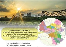 Dấu ấn phát triển Thủ đô sau 10 năm mở rộng địa giới hành chính