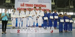 TP Hồ Chí Minh Nhất toàn đoàn Giải vô địch trẻ Judo toàn quốc năm 2018