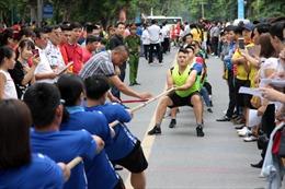 Hơn 1.000 vận động viên tham gia Hội khỏe mừng 10 năm Hà Nội mở rộng