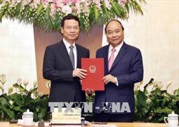 Thủ tướng trao Quyết định quyền Bộ trưởng Thông tin và Truyền thông
