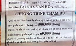 Yêu cầu kiểm điểm Trưởng Phòng Văn hóa - Thông tin huyện Triệu Sơn, Thanh Hóa