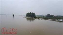 Huyện Chương Mỹ ra công văn hỏa tốc về tình hình ngập lụt