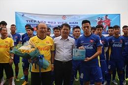 Món quà bất ngờ dành cho các cầu thủ U23 Việt Nam trước thềm giải đấu